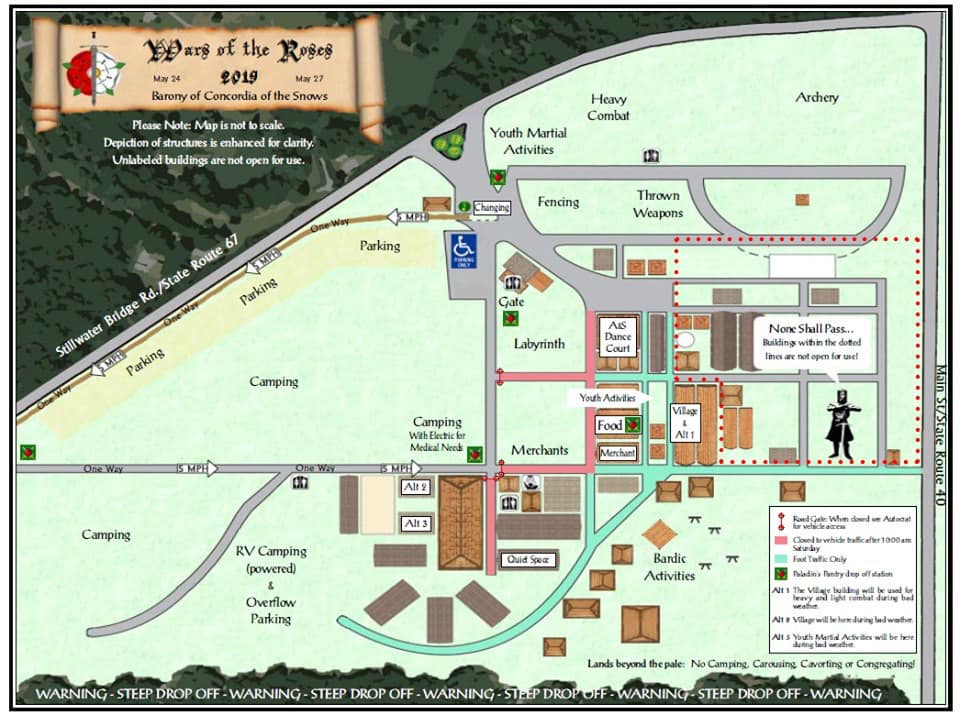 Image of the Schaghticoke Fairgrounds Site Map